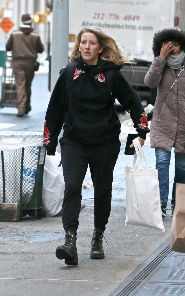 Ellie Goulding Goes Shopping in New York City 01/10/2018-5