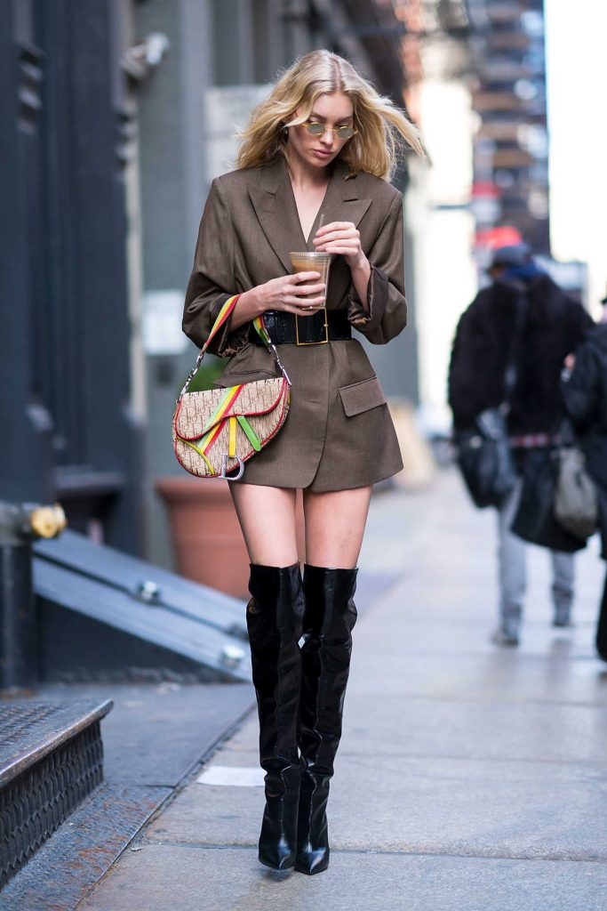 Elsa Hosk Was Spotted Out in Soho 01/27/2018-2