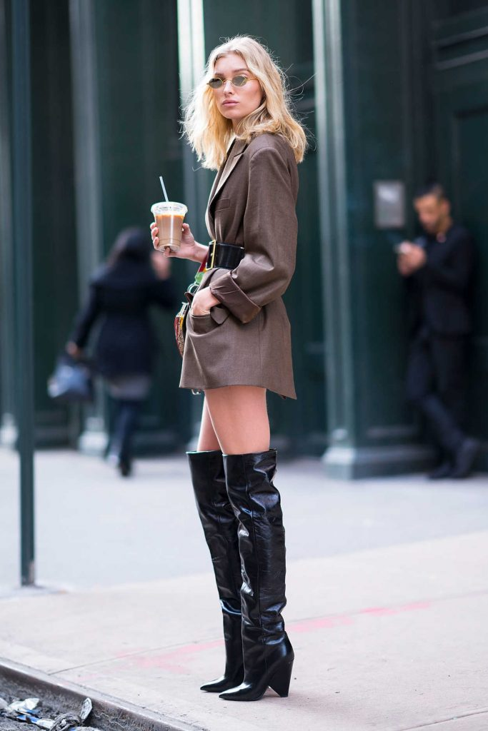 Elsa Hosk Was Spotted Out in Soho 01/27/2018-3