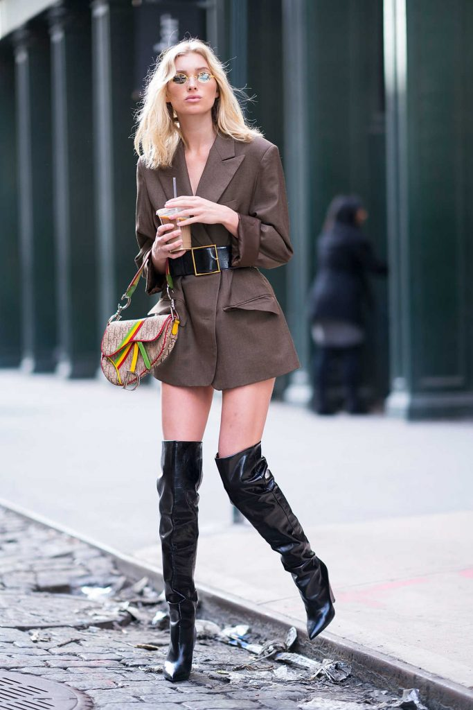 Elsa Hosk Was Spotted Out in Soho 01/27/2018-4