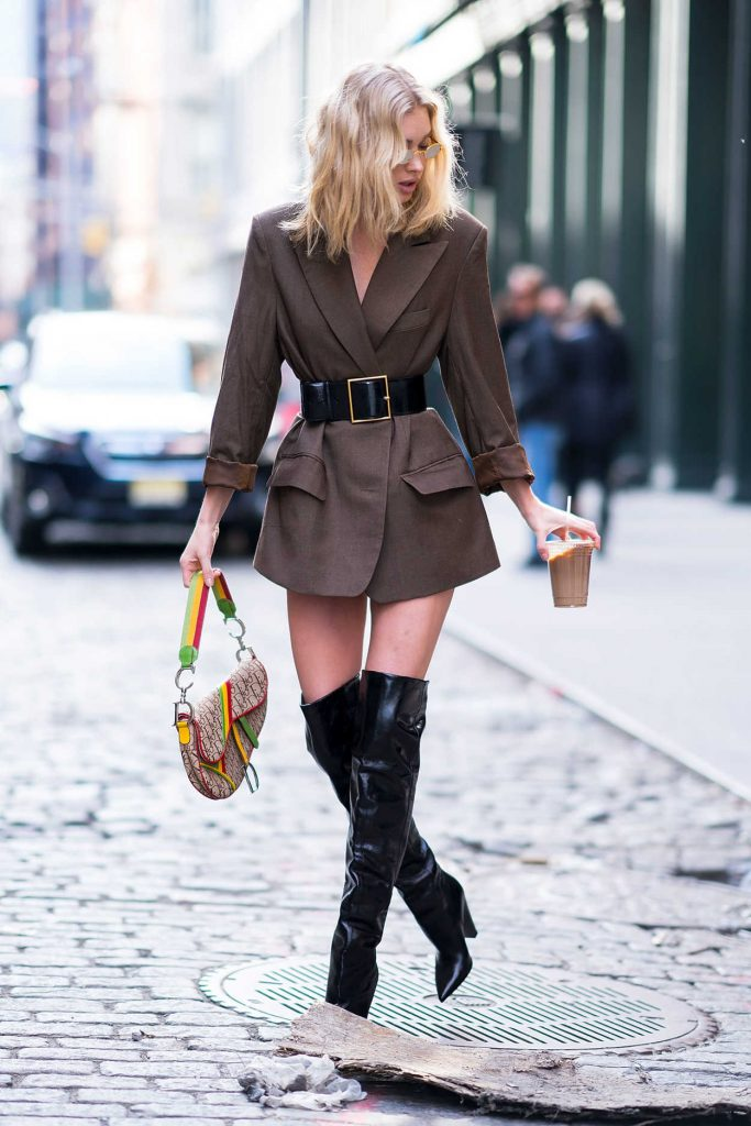 Elsa Hosk Was Spotted Out in Soho 01/27/2018-5