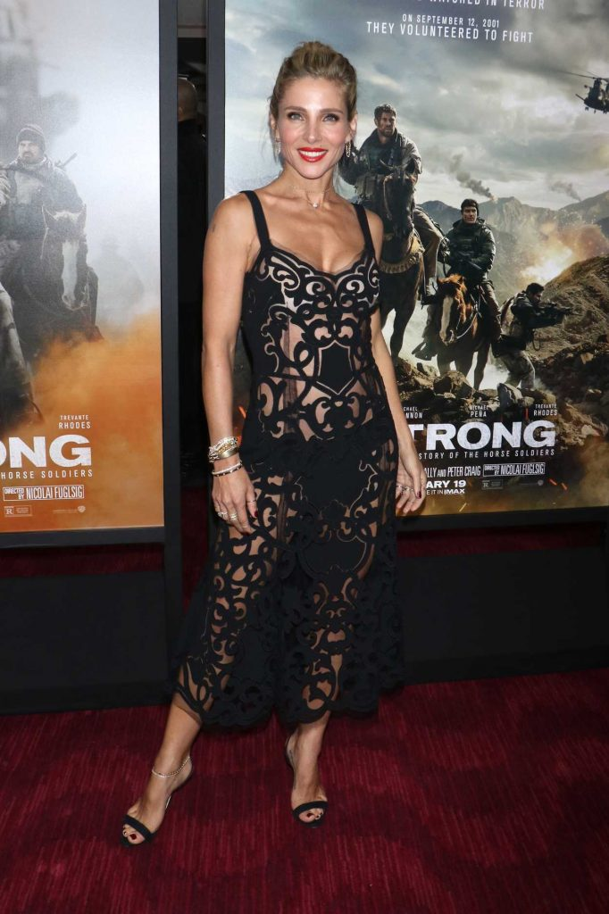Elsa Pataky at 12 Strong Premiere in New York 01/16/2018-1