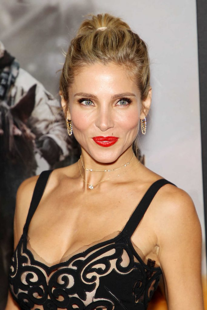 Elsa Pataky At 12 Strong Premiere In New York 01162018