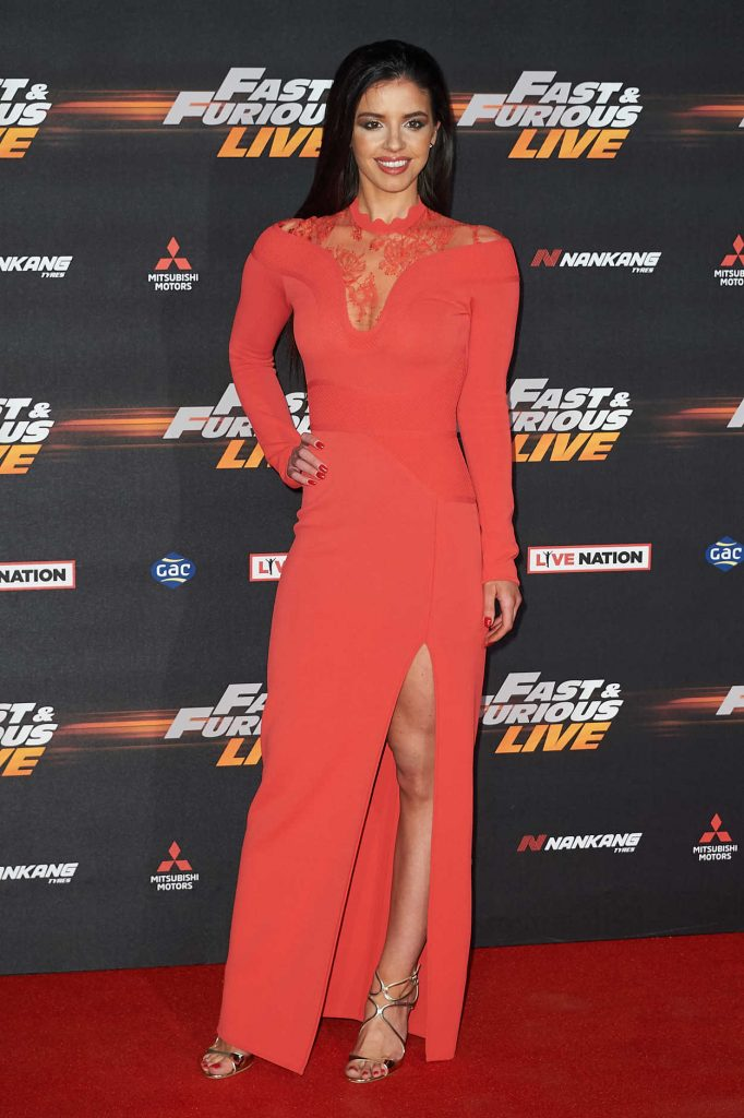Elysia Wren at the Fast and Furious Live Premiere in London 01/19/2018-1