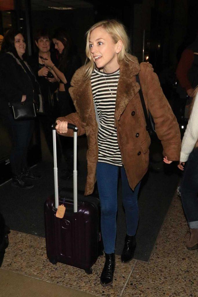 Emily Kinney Arrives at Salt Lake City Airport 01/19/2018-1