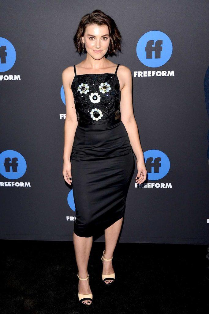 Emma Lahana at 2018 Freeform Summit in Hollywood 01/18/2018-1