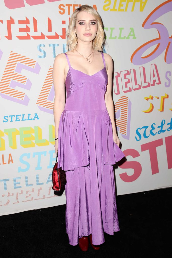 Emma Roberts at the Stella McCartney Show in Hollywood 01/16/2018-1