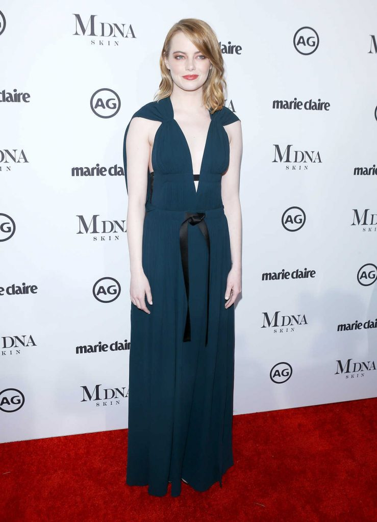 Emma Stone at the Marie Claire Image Makers Awards in Los Angeles 01/11/2018-1