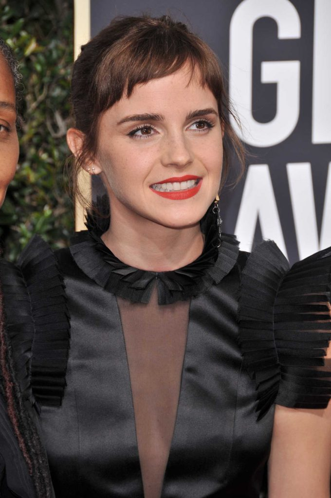 Emma Watson at the 75th Annual Golden Globe Awards in Beverly Hills 01/07/2018-2