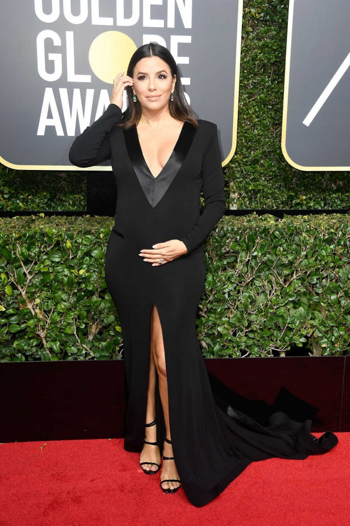 Eva Longoria at the 75th Annual Golden Globe Awards in Beverly Hills 01/07/2018-1