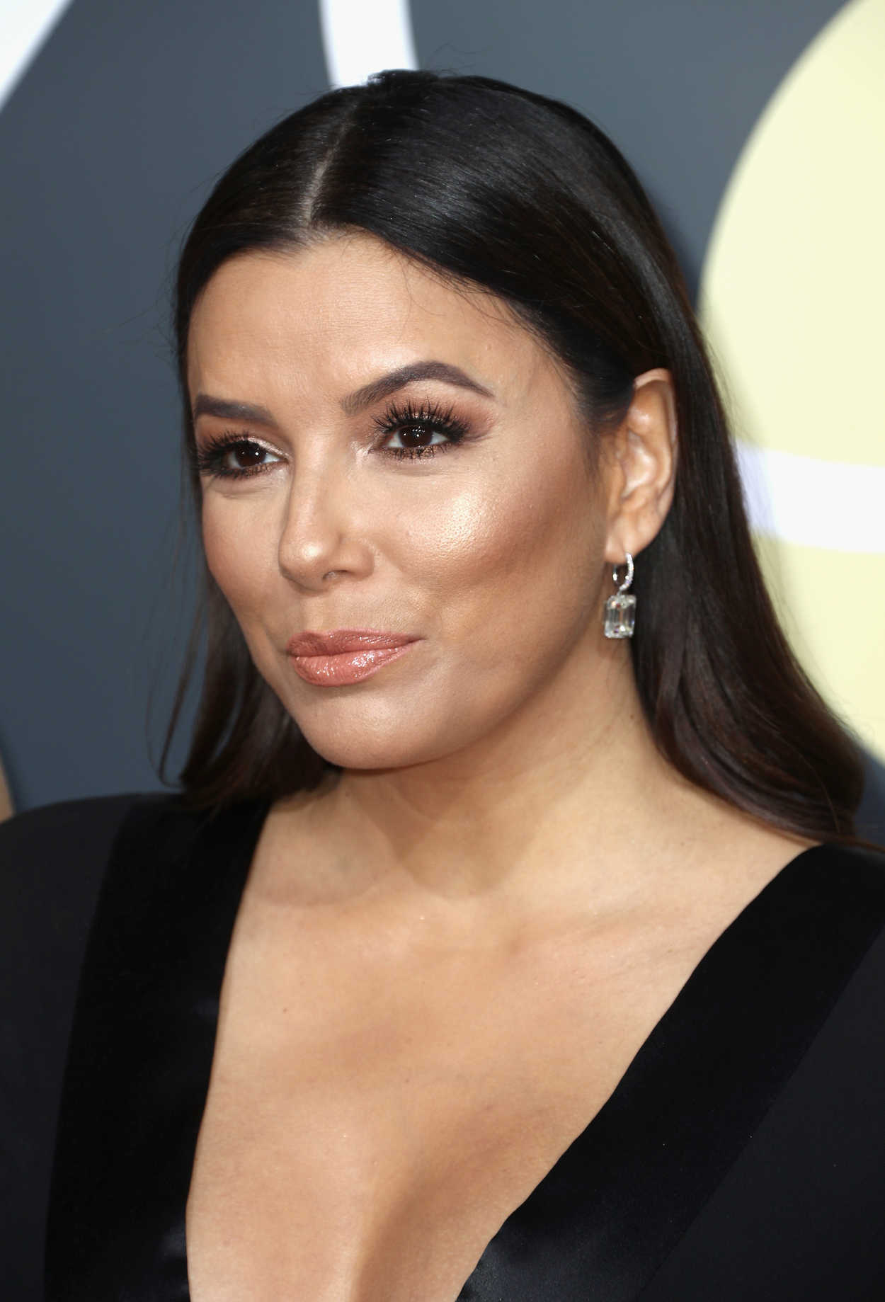 Eva Longoria at the 75th Annual Golden Globe Awards in ... Eva Longoria