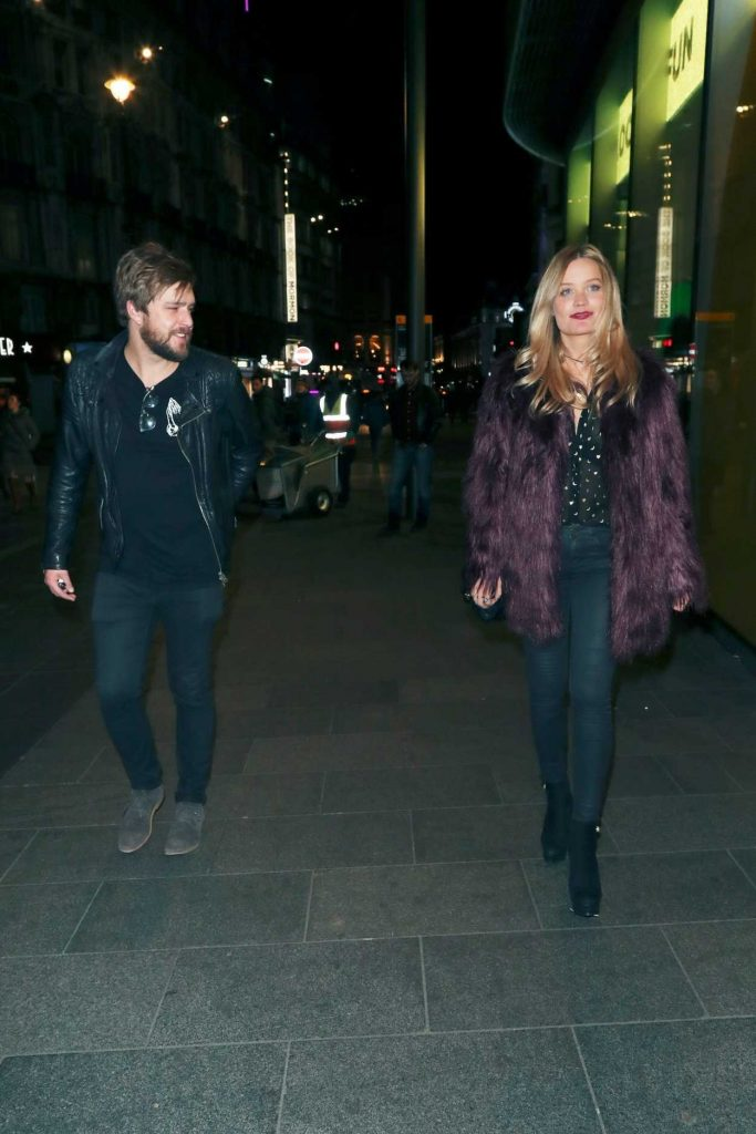 Laura Whitmore Leaves Cafe de Paris in London 01/15/2018-2