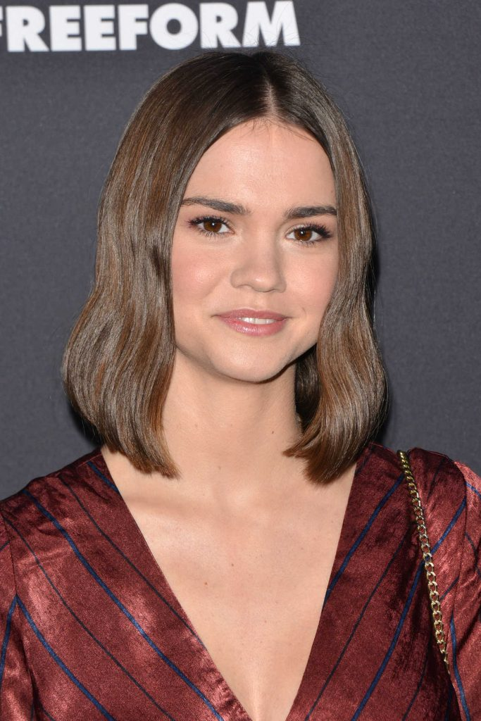 Maia Mitchell at 2018 Freeform Summit in Hollywood 01/18/2018-5