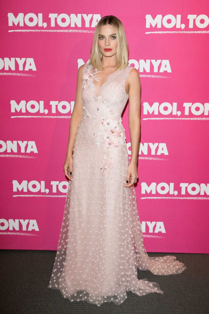 Margot Robbie at I, Tonya Premiere in Paris 01/15/2018-1