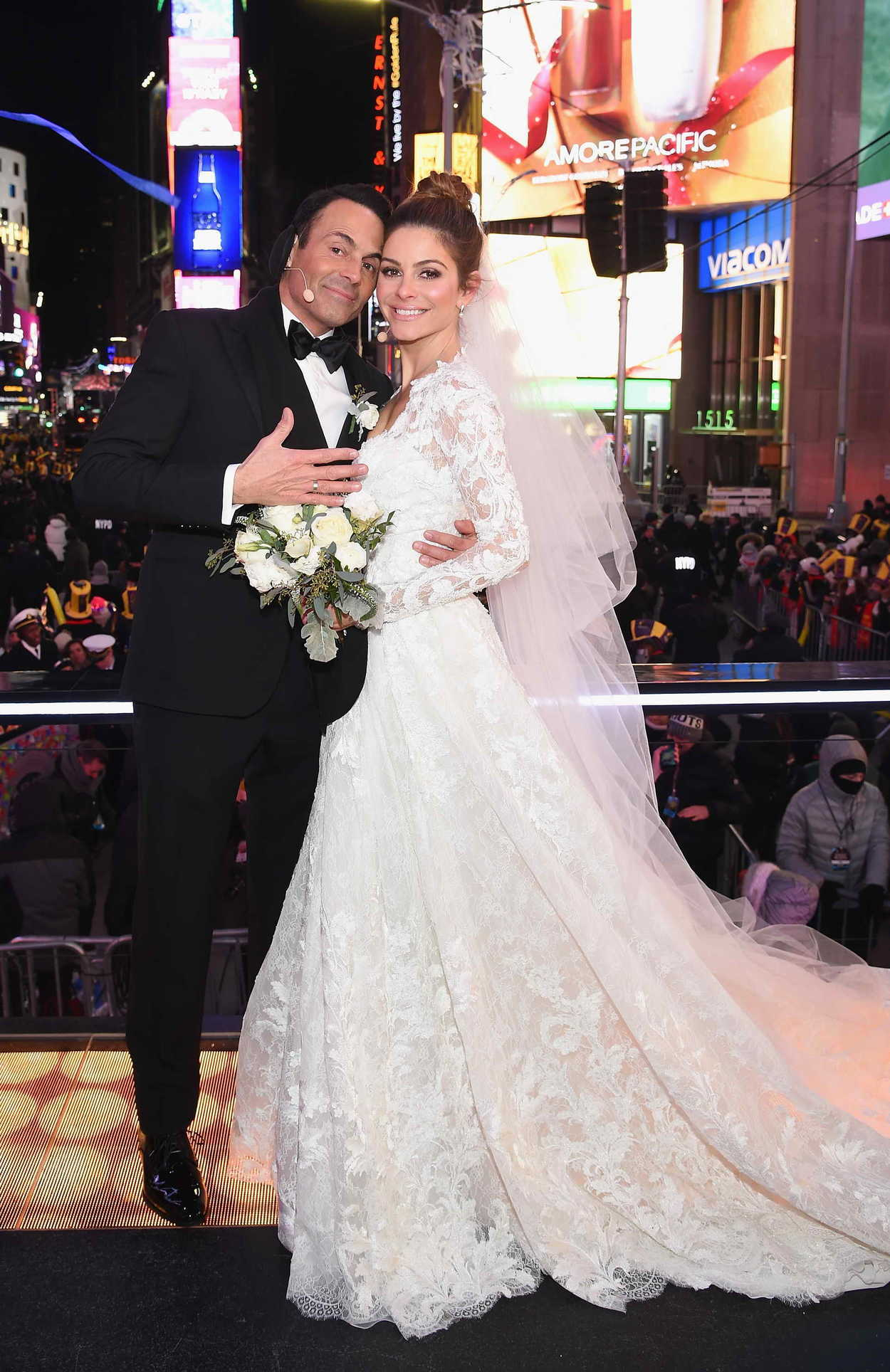 Maria Menounos Gets Married on Live TV on New Year's Eve