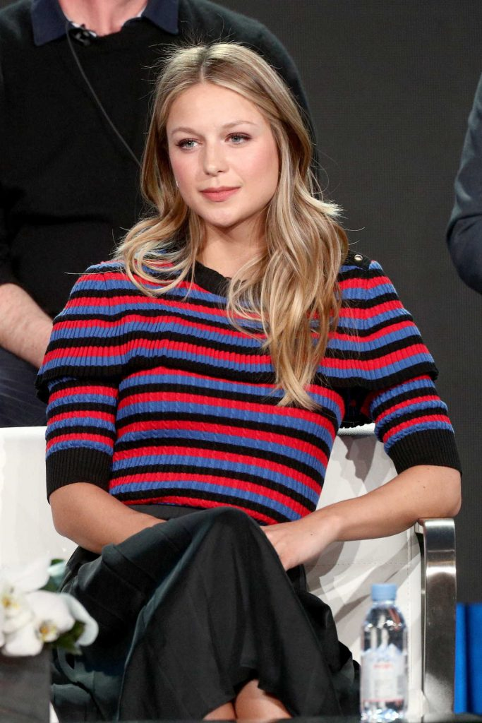 Melissa Benoist at the Paramount Network Waco TV Show Panel During the 2018 Winter TCA Tour in Pasadena 01/15/2018-2
