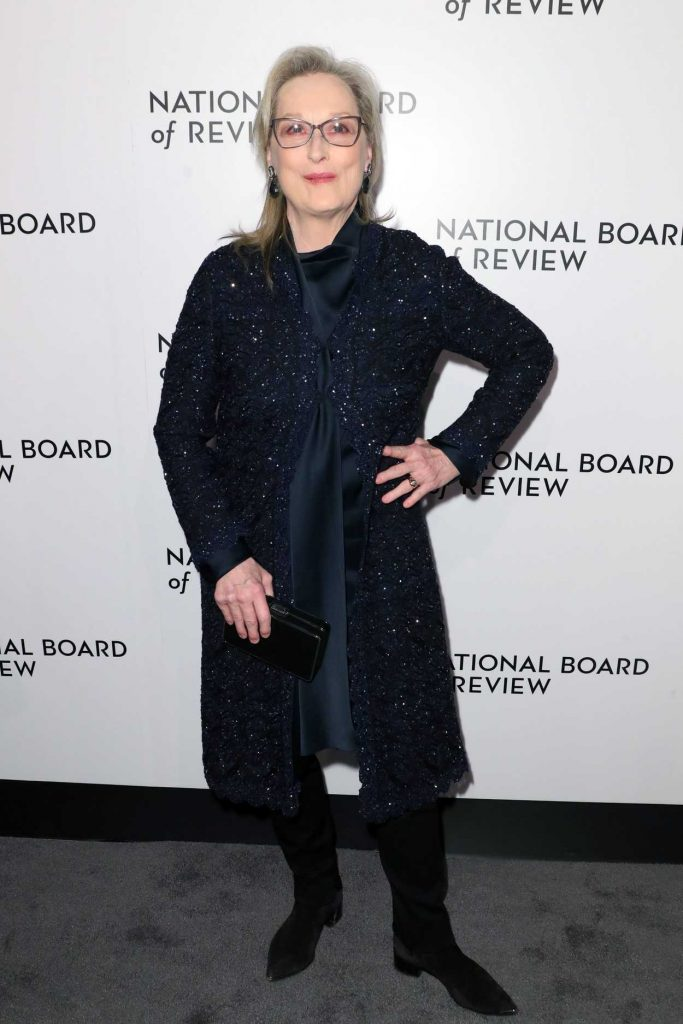 Meryl Streep at The National Board of Review Annual Awards Gala at Cipriani 42nd Street in New York City 01/09/2018-1