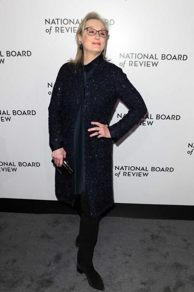 Meryl Streep at The National Board of Review Annual Awards Gala at Cipriani 42nd Street in New York City 01/09/2018-2