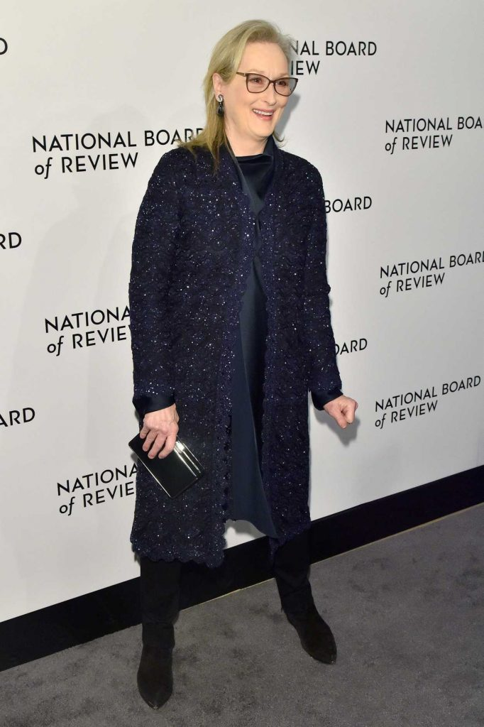 Meryl Streep at The National Board of Review Annual Awards Gala at Cipriani 42nd Street in New York City 01/09/2018-3