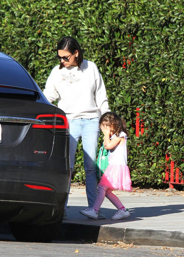 Mila Kunis Was Spotted Out in LA 01/15/2018-5
