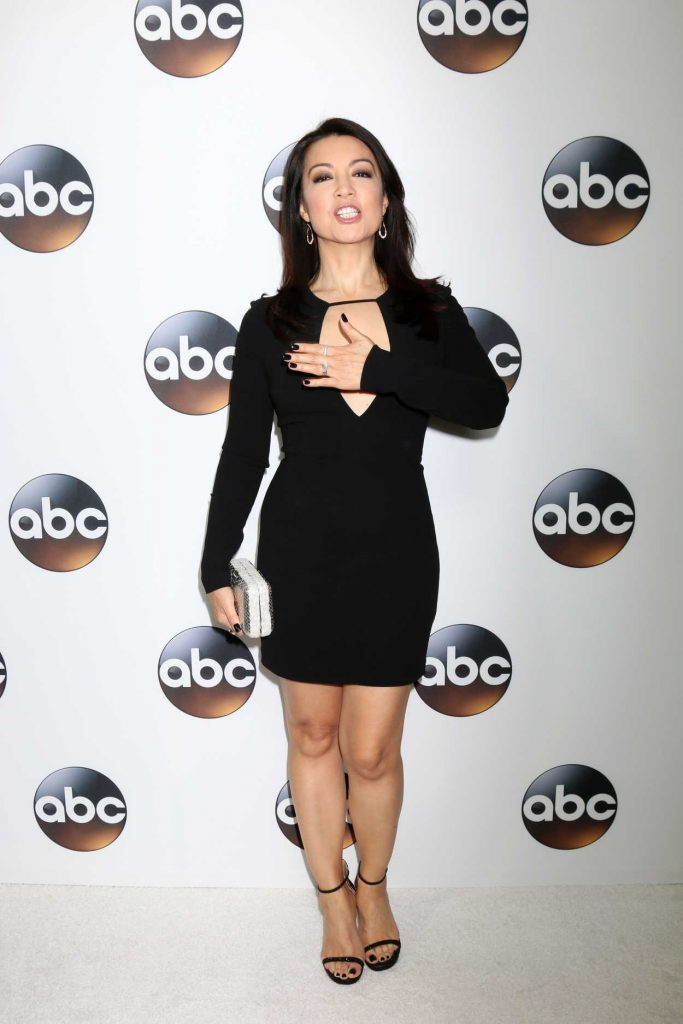 Ming-Na Wen at Disney ABC TCA Winter Press Tour in Pasadena 01/08/2018-1