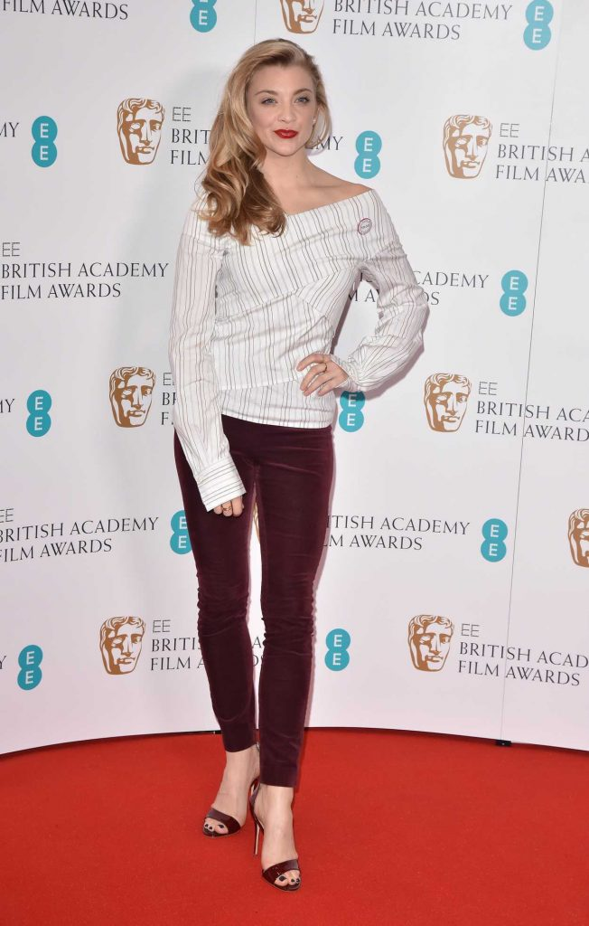 Natalie Dormer at British Academy Film Awards Nominations Announcement in London 01/09/2018-2