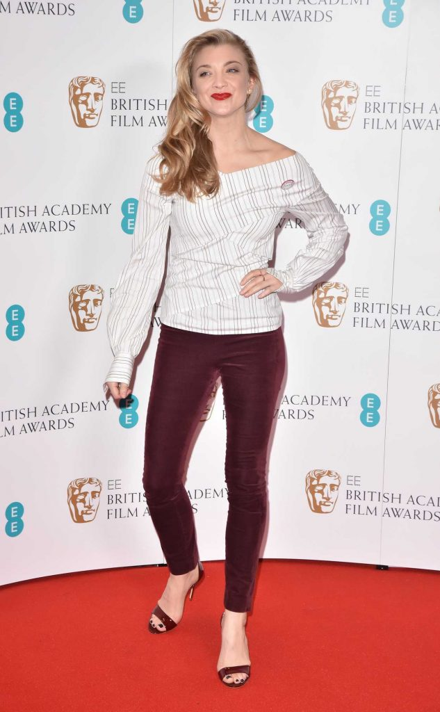 Natalie Dormer at British Academy Film Awards Nominations Announcement in London 01/09/2018-3