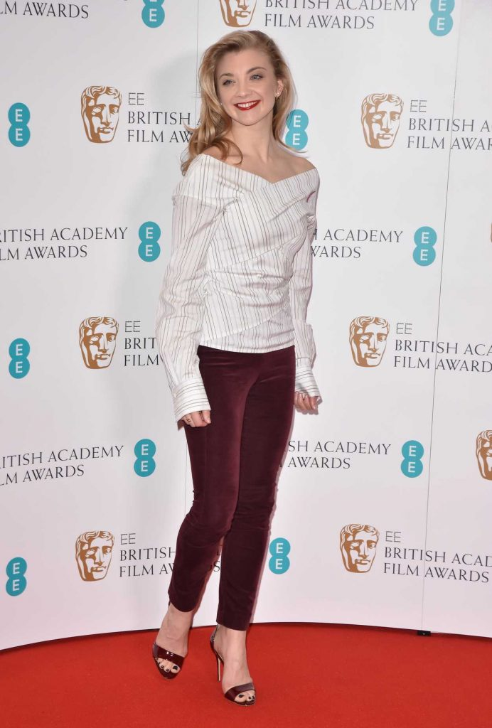 Natalie Dormer at British Academy Film Awards Nominations Announcement in London 01/09/2018-4