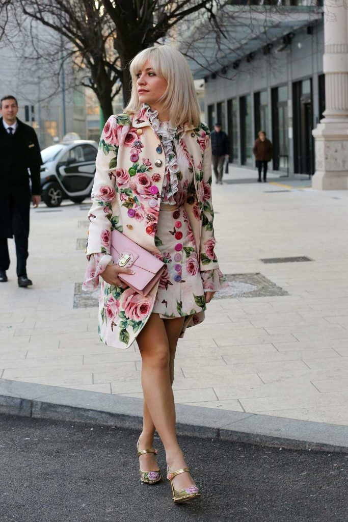 Pixie Lott Was Seen Out in Milan 01/13/2018-1