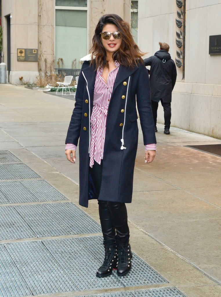 Priyanka Chopra Was Spotted Out in NYC 01/11/2018-1