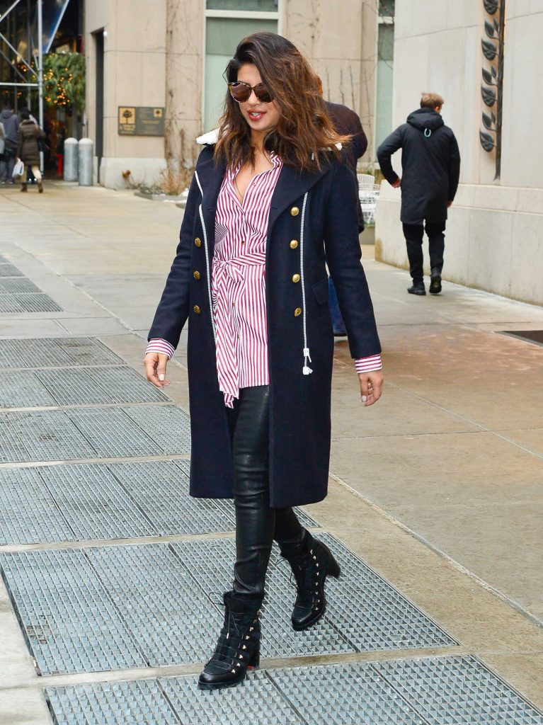 Priyanka Chopra Was Spotted Out in NYC 01/11/2018-2