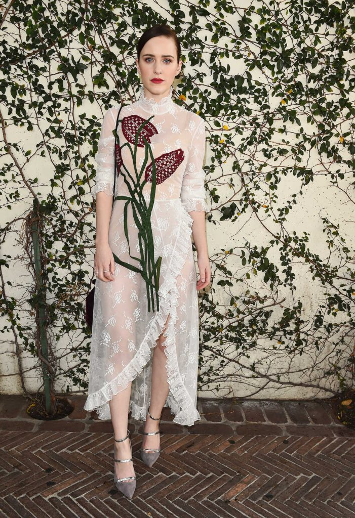Rachel Brosnahan at Lynn Hirschberg Celebrates W Magazine's It Girls With Dior in LA 01/06/2018-1