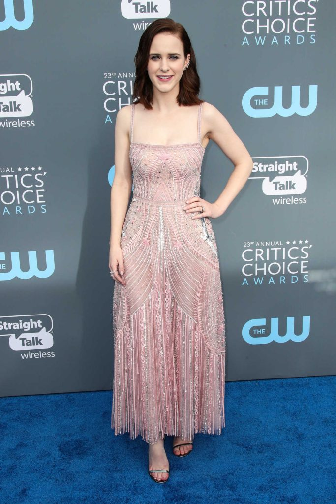 Rachel Brosnahan at the 23rd Annual Critics' Choice Awards in Santa Monica 01/11/2018-1