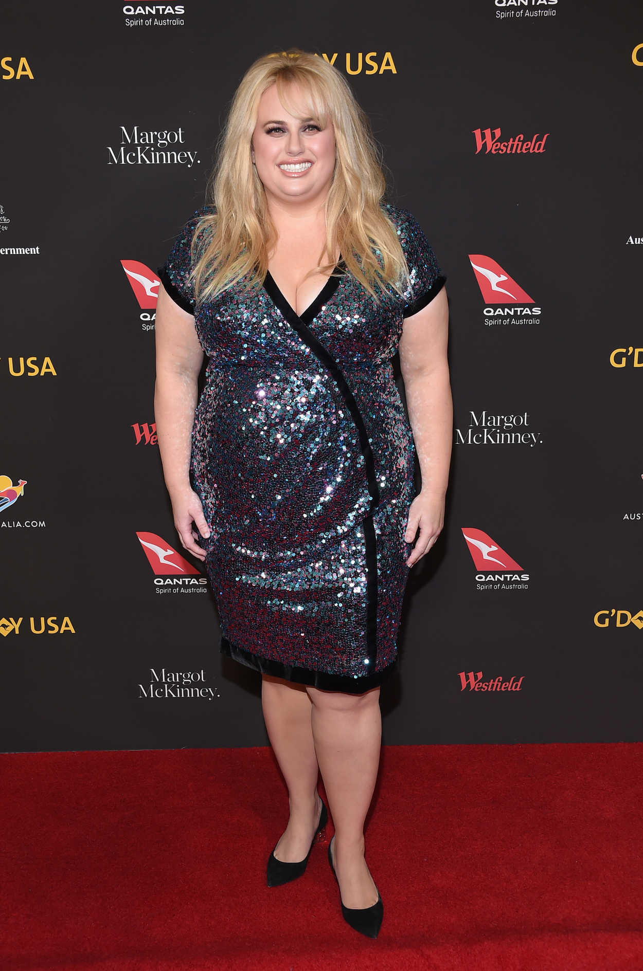 Rebel Wilson Weight Loss >> Rebel Wilson at 2018 G'Day USA Los Angeles Black Tie Gala at the InterContinental in Los Angeles ...