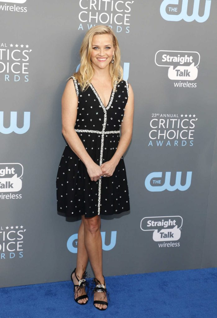 Reese Witherspoon  at the 23rd Annual Critics' Choice Awards in Santa Monica 01/11/2018-1