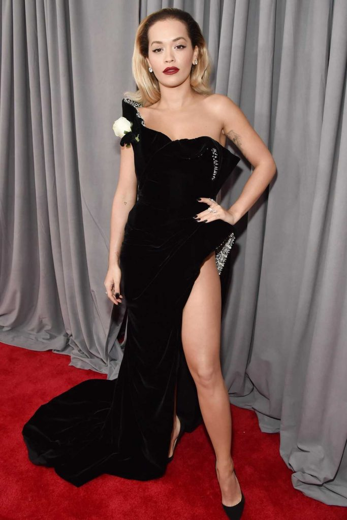 Rita Ora at the 60th Annual Grammy Awards at Madison Square Garden in New York City 01/28/2018-1