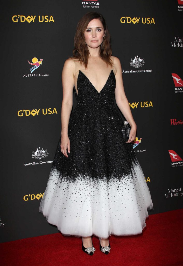 Rose Byrne at 2018 G'Day USA Los Angeles Black Tie Gala at the InterContinental in Los Angeles 01/27/2018-1