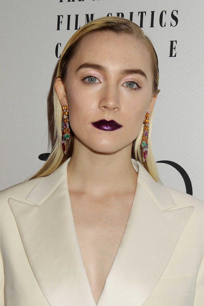 Saoirse Ronan at 2017 New York Film Critics Awards at Tao Downtown in NYC 01/03/2018-4