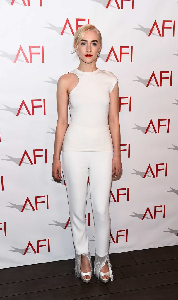 Saoirse Ronan at the 18th Annual AFI Awards in Los Angeles 01/05/2018-1