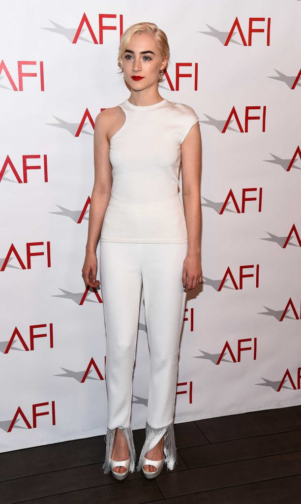 Saoirse Ronan at the 18th Annual AFI Awards in Los Angeles 01/05/2018-2