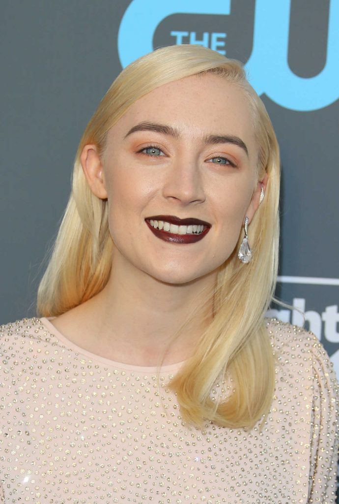 Saoirse Ronan at the 23rd Annual Critics' Choice Awards in Santa Monica 01/11/2018-5