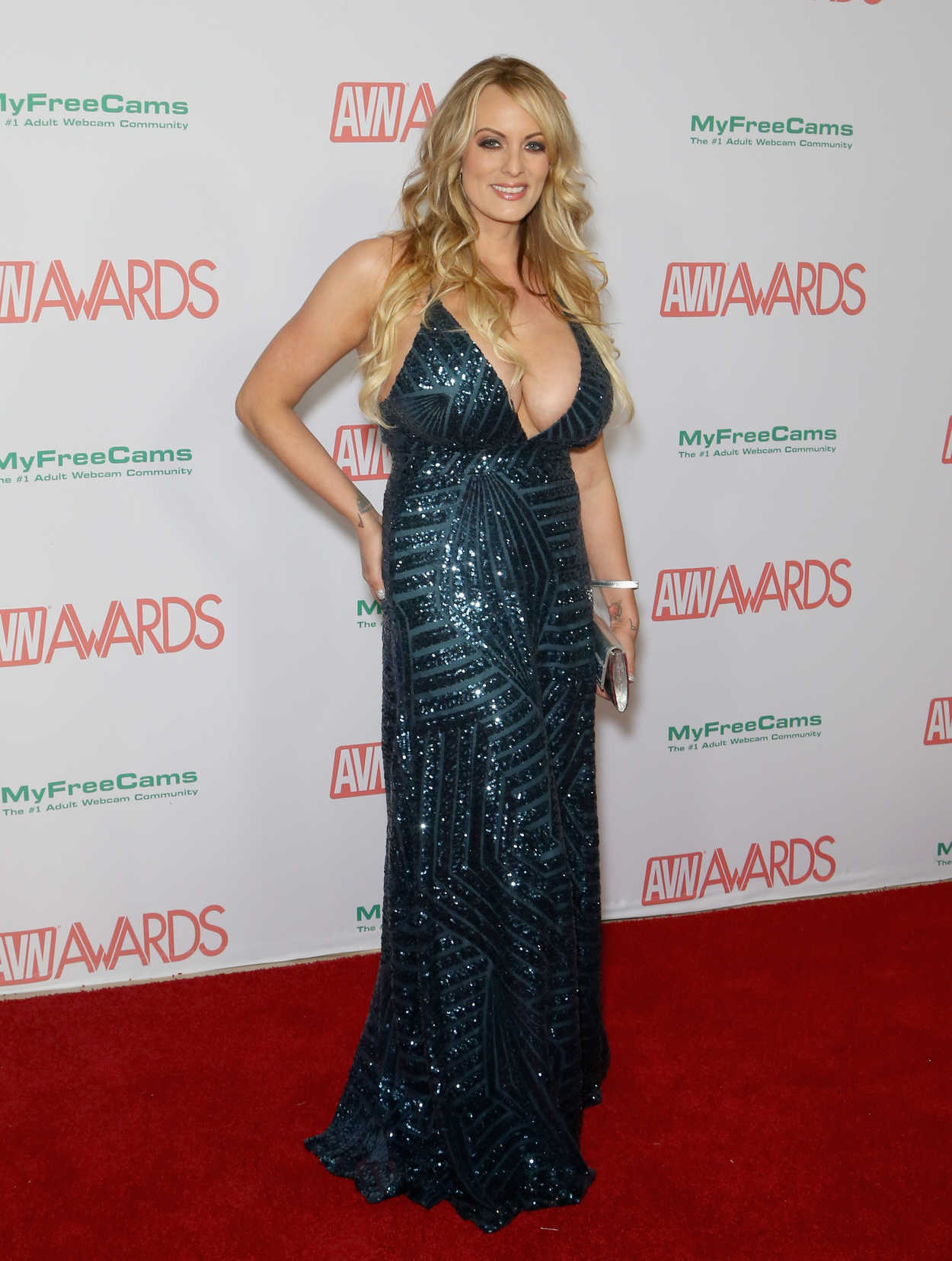 KENDRA JADE at AVN Awards Nominations Announcement in