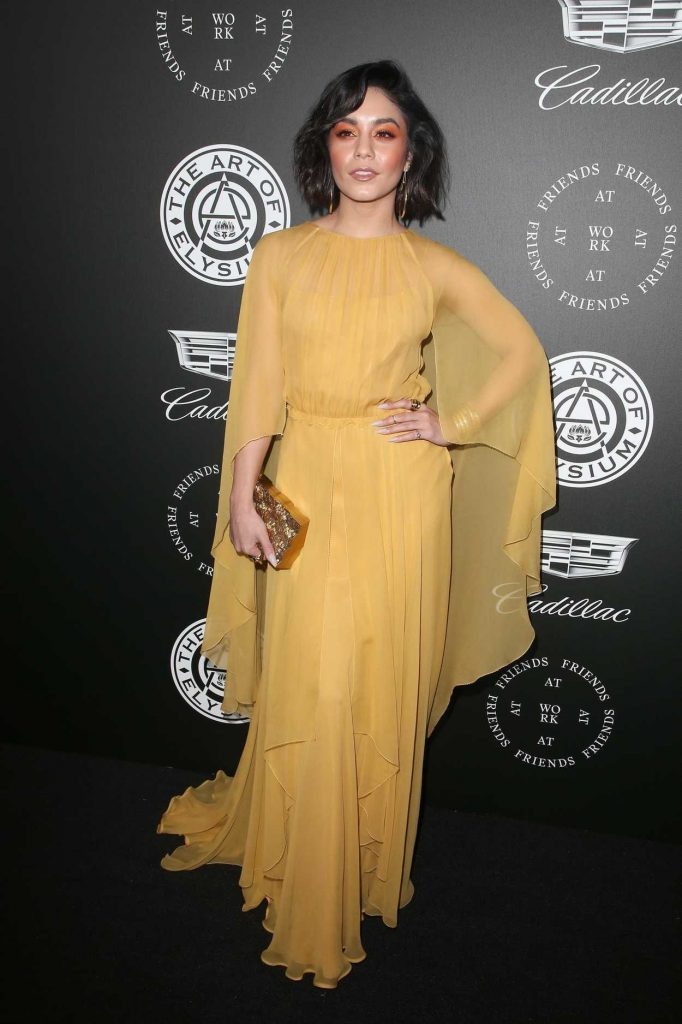 Vanessa Hudgens at Art of Elysium 11th Annual HEAVEN Celebration at Barker Hangar in Santa Monica 01/06/2018-1