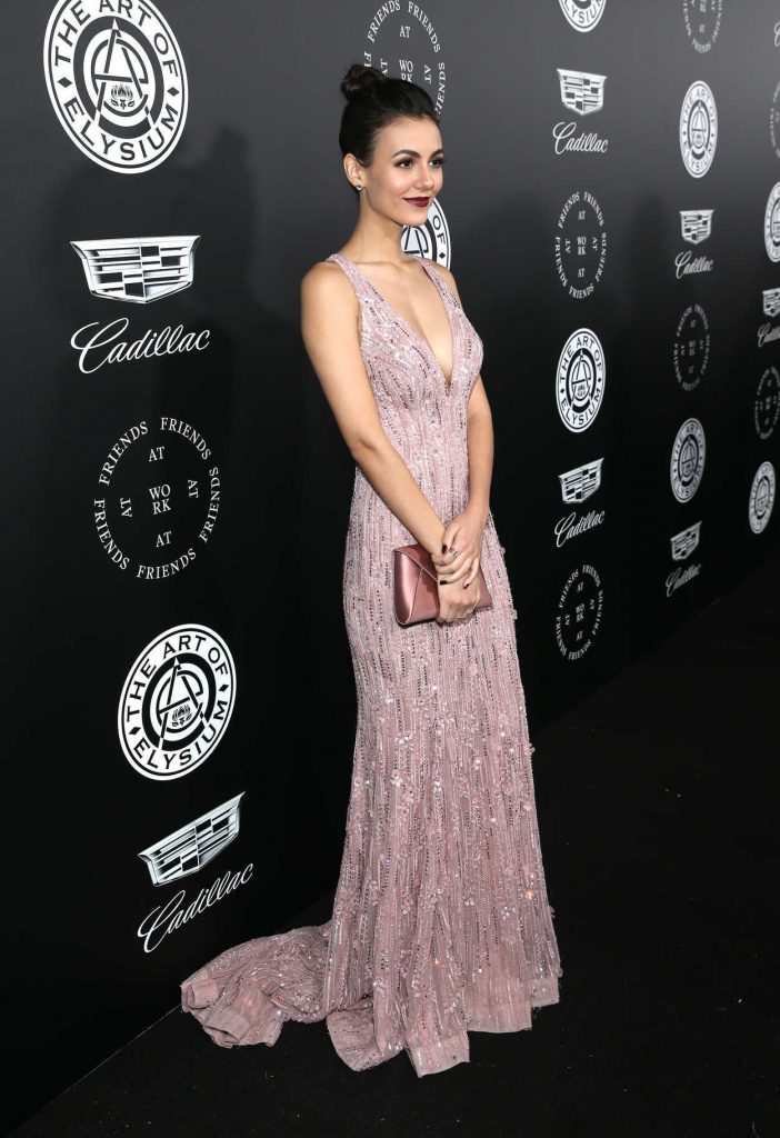 Victoria Justice at Art of Elysium 11th Annual Heaven Celebration at Barker Hangar in Santa Monica 01/06/2018-2