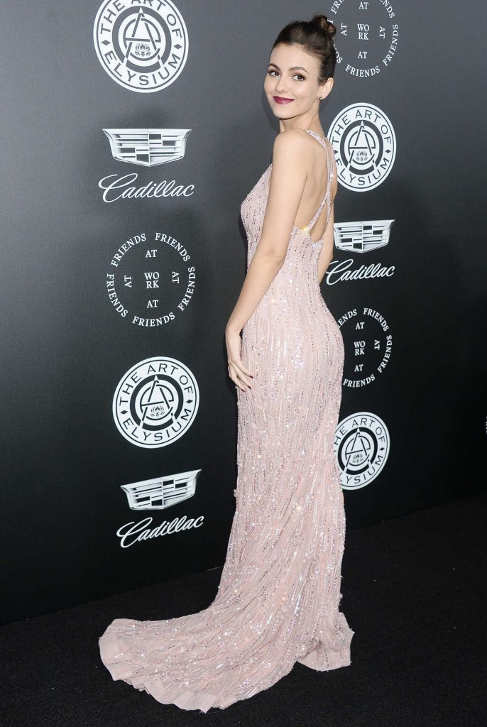 Victoria Justice at Art of Elysium 11th Annual Heaven Celebration at Barker Hangar in Santa Monica 01/06/2018-3