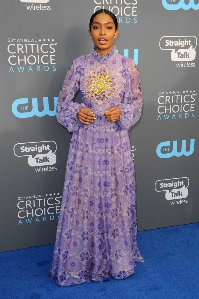 Yara Shahidi at the 23rd Annual Critics' Choice Awards in Santa Monica 01/11/2018-1