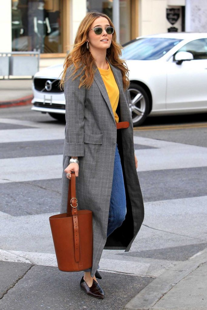 Zoey Deutch Goes Shopping in Beverly Hills 01/03/2018-1