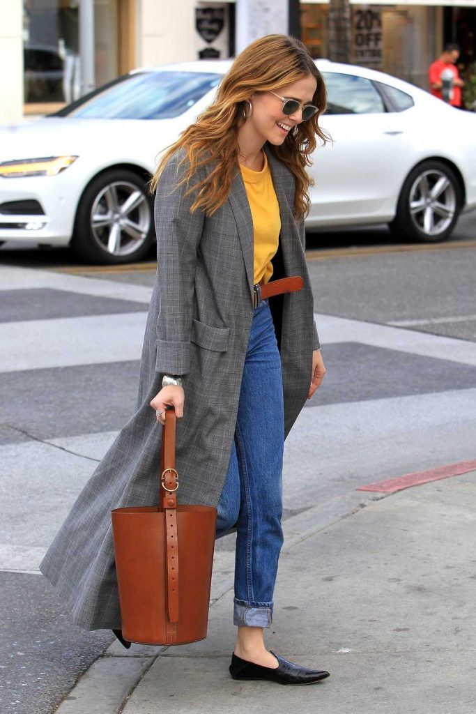 Zoey Deutch Goes Shopping in Beverly Hills 01/03/2018-3