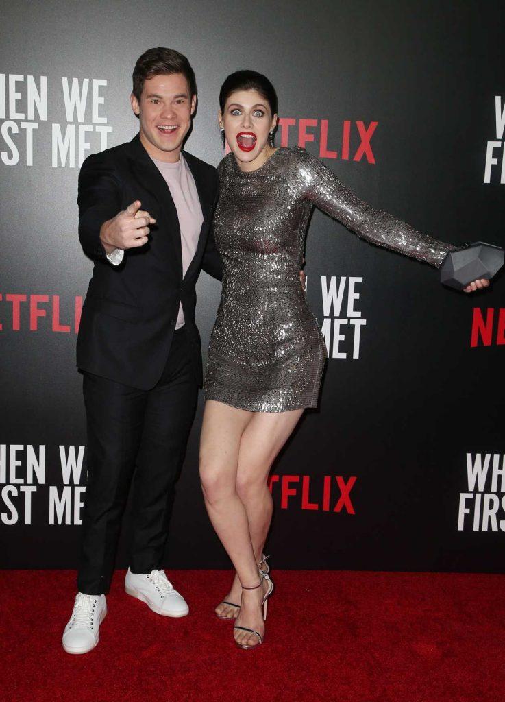 Alexandra Daddario at When We First Met Screening in Los Angeles 02/20/2018-4