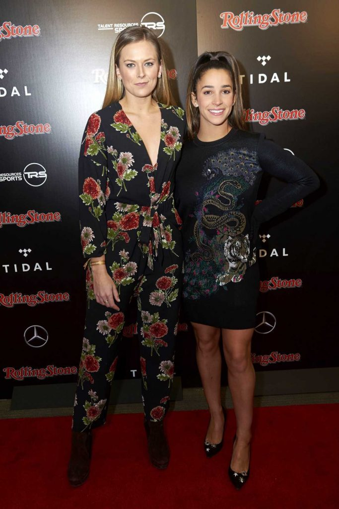 Aly Raisman at the Rolling Stone Live Super Bowl Party in Minneapolis 02/03/2018-2